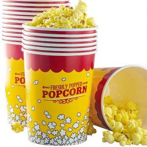 32 Oz Disposable Popcorn Cups