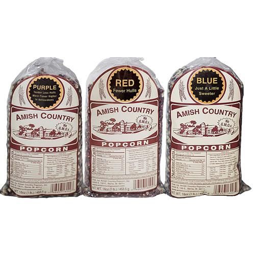 Amish Country Popcorn Variety Gift Set