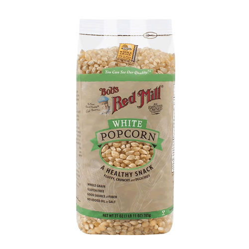 Bob's Red Mill Whole White Popcorn bag