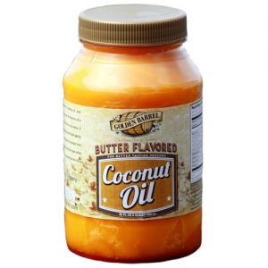 Golden Barrel Butter Flavored Coconut Oil