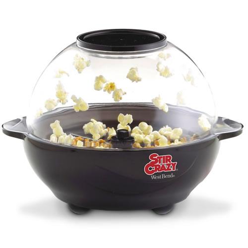 Stir Crazy popcorn popper 82306 popping