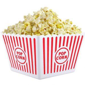 bekitch plastic popcorn tub