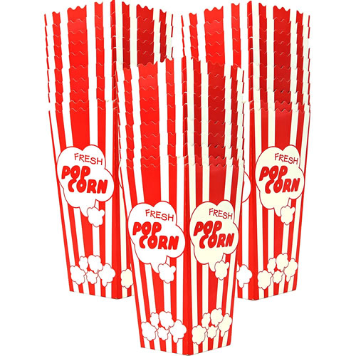 disposable popcorn boxes