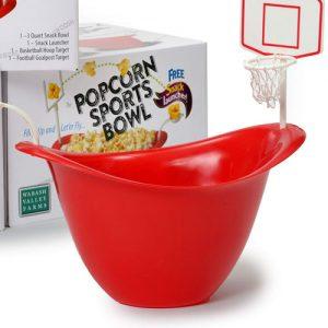 hoops popcorn bowl