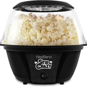 black stir crazy popcorn popper