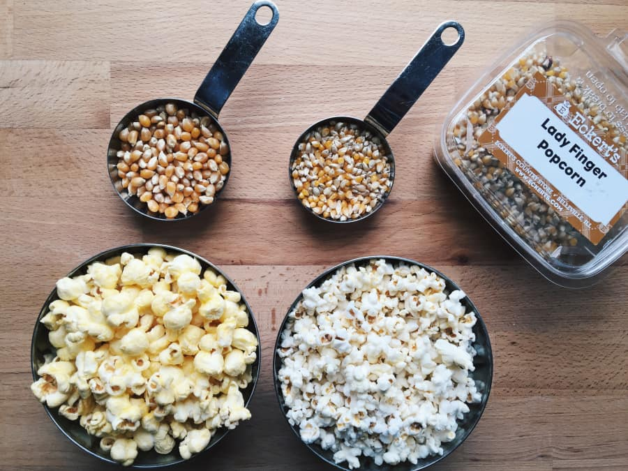 Ladyfinger Popcorn