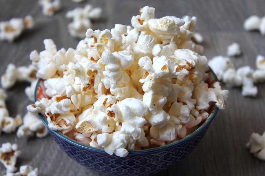 Home-Popped Popcorn